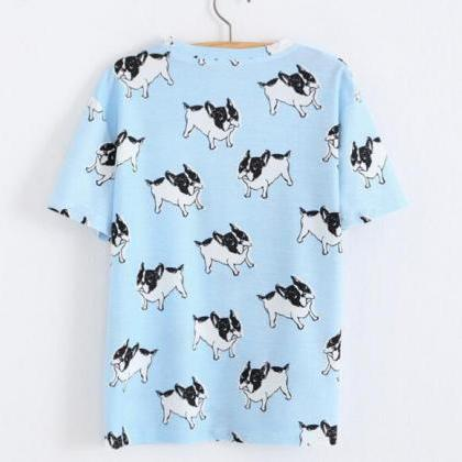 FAST SHIPPING New Harajuku Blue Dog..