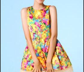 FREE SHIPPING Floral..