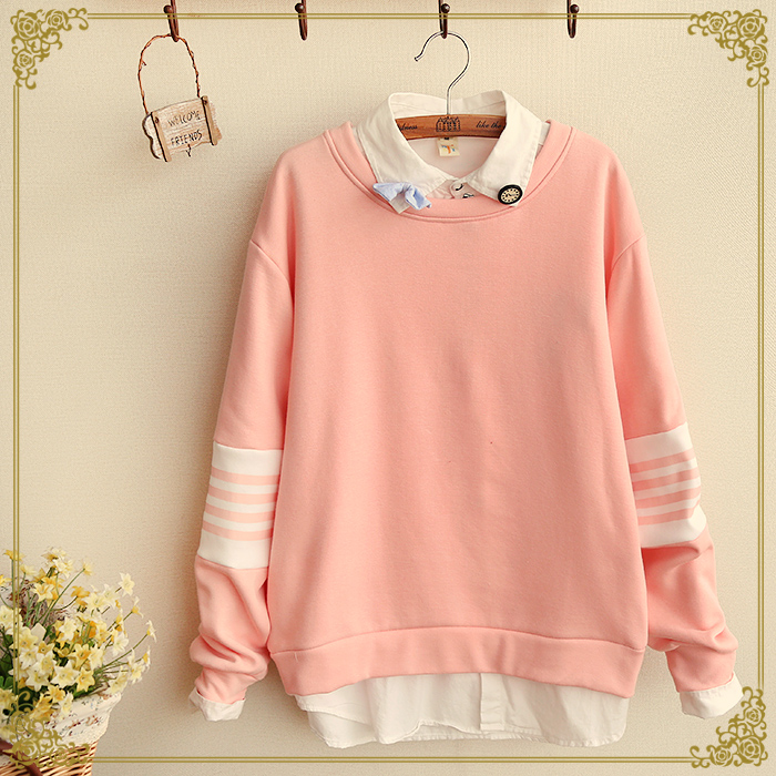 Free Shipping Cute Pastel Color Sweater On Luulla